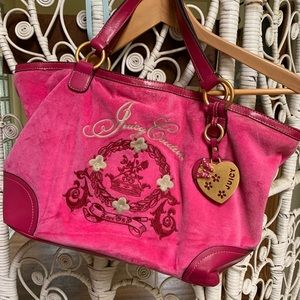 Hot Pink 00's Juicy Couture Bag